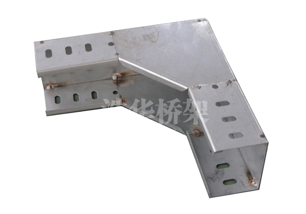不锈钢水平弯桥架